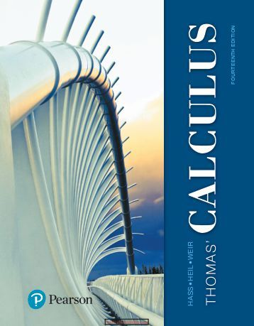 thomas calculus 14th edition solution manual onlinw pdf