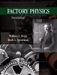 factory physics third edition solution manual