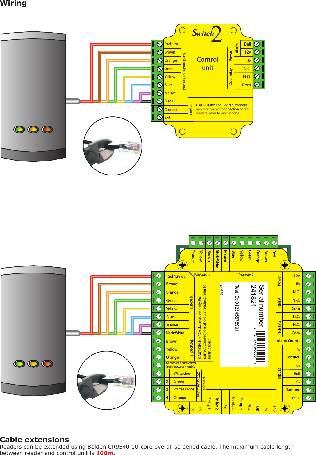 paxton switch 2 user manual