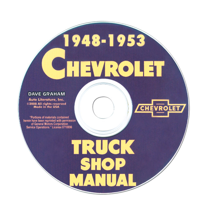 1947 chevy truck parts manual
