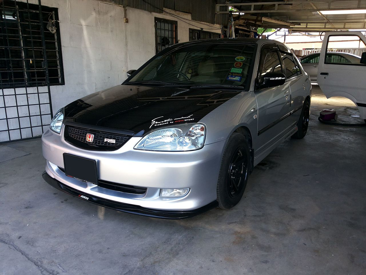 2003 honda civic hx manual
