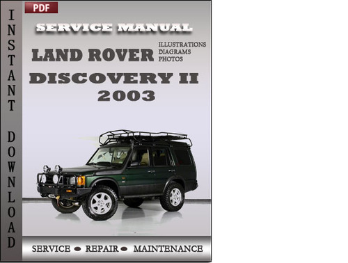 2003 land rover discovery parts manual