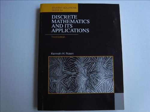 discrete mathematics and its applications solution manual free download