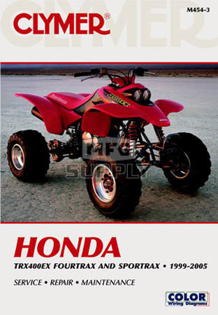 2002 honda trx400ex service manual