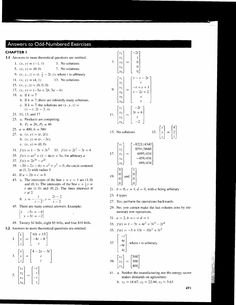 solution manual linear algebra with applications otto bretscher