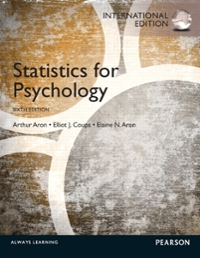 statistics for psychology 6th edition solution manual