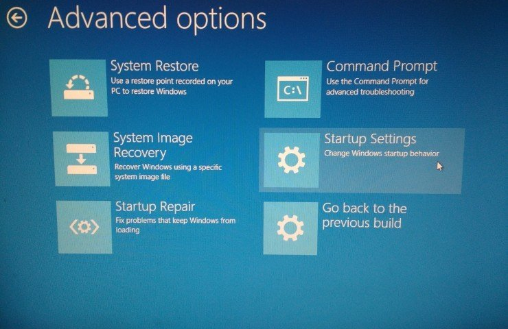 how to manually start hp recovery windows 10