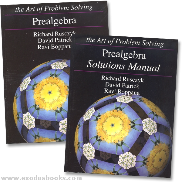 algebra solutions manual the art of problem solving pdf