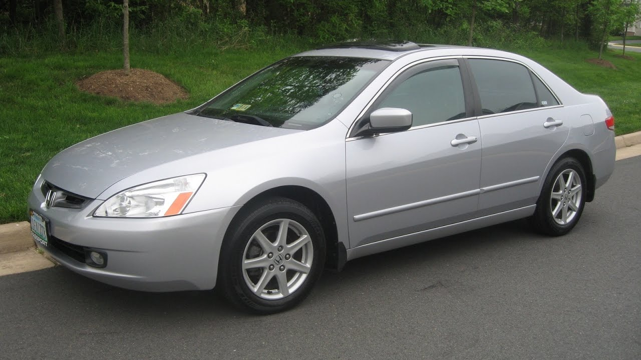 2004 honda accord lx manual sedan