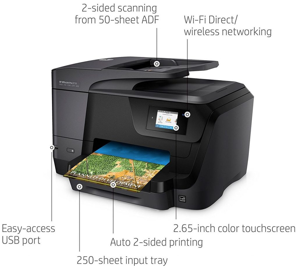 how to send a fax manually from hp 8710