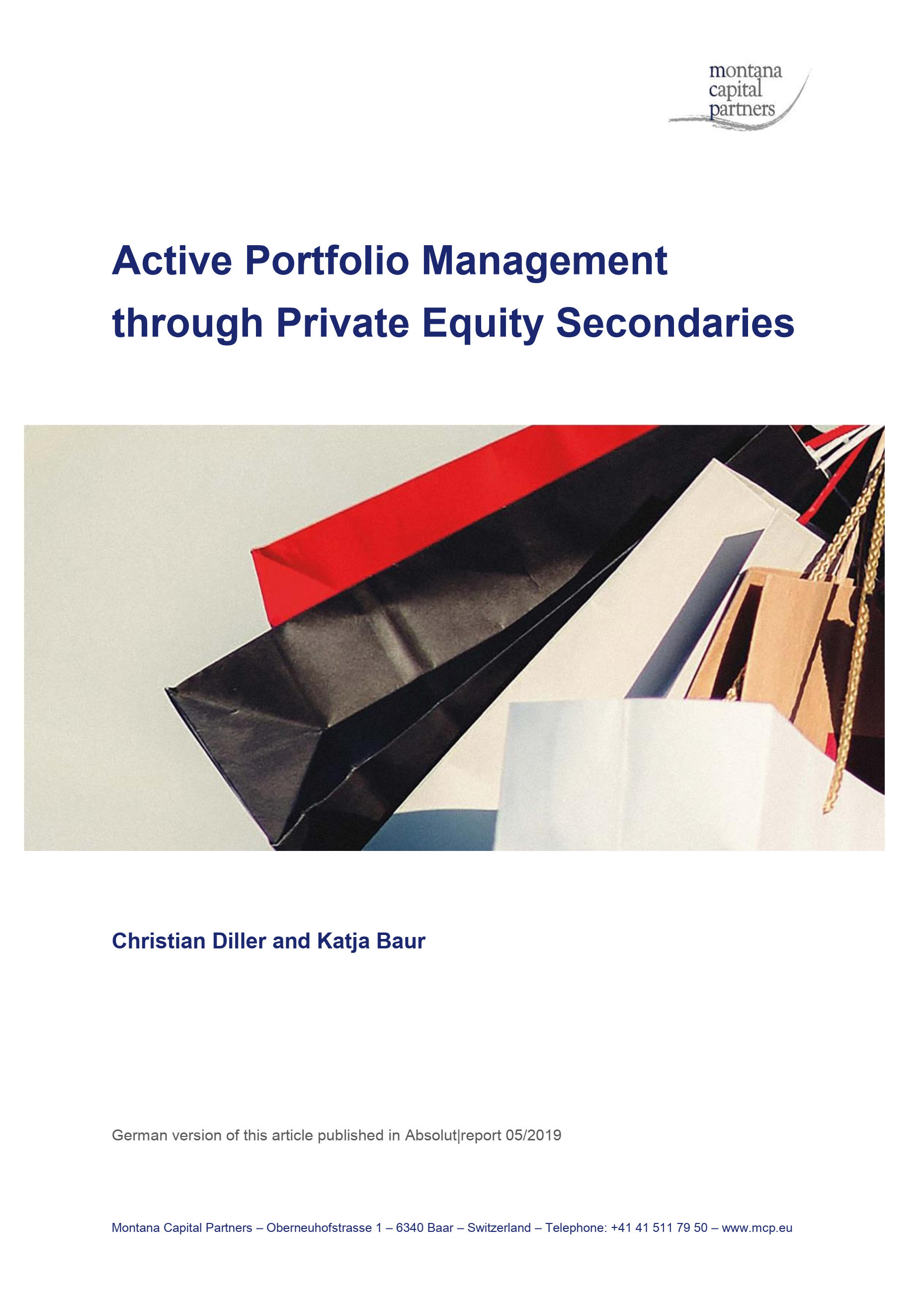 active portfolio management solutions manual