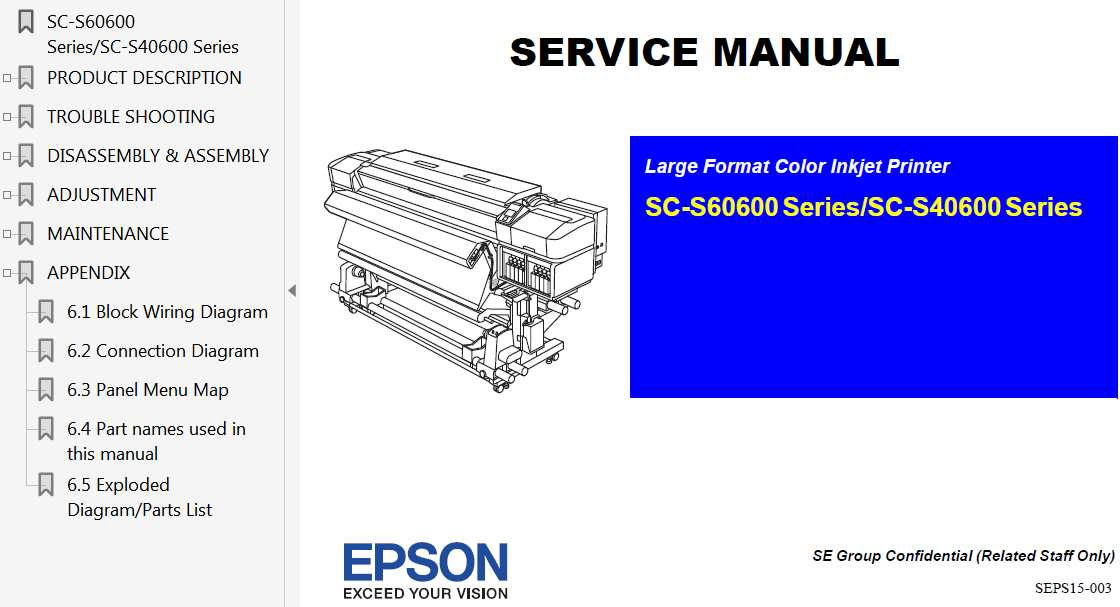 epson xp-440 tech manual parts list