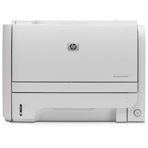 hp laserjet p2035n printer manual