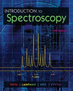 introduction to spectroscopy pavia 5th edition solution manual
