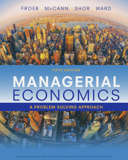 managerial economics a problem solving approach 4th edition solution manual