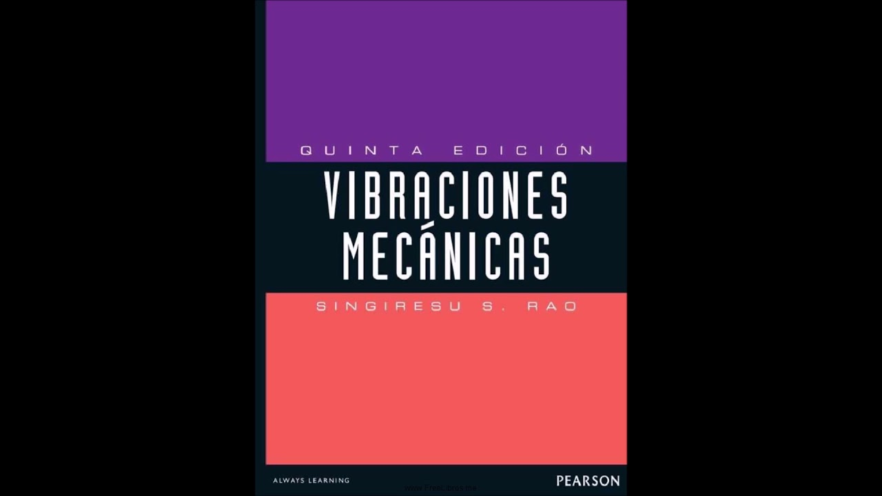 mechanical vibrations fifth edition singiresu s rao solution manual
