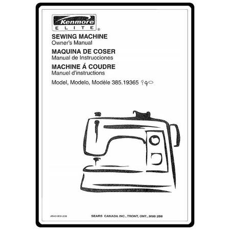 part manual for kenmore model 116.29312990