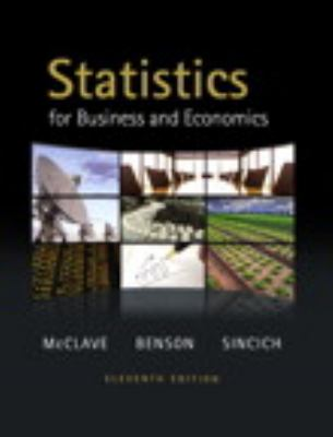 statistics for business and economics 10th edition solution manual